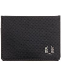 Fred Perry - Pique Texture Card Holder - Lyst
