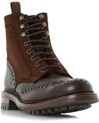 Cheaney - Irvine Warm Lined Combi Brogues - Lyst