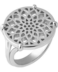 Links of London - Timeless Sterling Silver Coin Ring- Size N - Lyst
