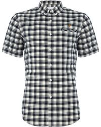 Farah | Men's Reydon Slim Fit Short Sleeve Check Shirt | Lyst