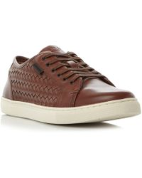 Kenneth Cole - Bring About Weave Cupsole Trainer - Lyst