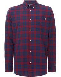 Jack & Jones - Men's Silver Checked Shirt - Lyst