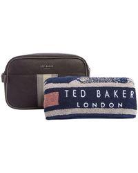 Ted Baker - Webbing Washbag With Towel Gift Set - Lyst