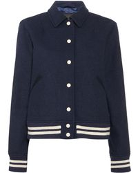 Levi's - Mira Wildcats Bomber Jacket With Badge - Lyst