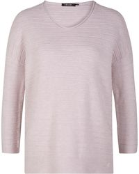 Olsen - Cotton Blend Pullover - Lyst