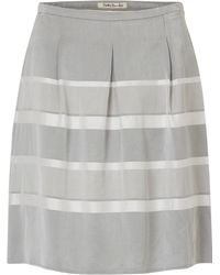 Betty Barclay - Striped Satin Finish Skirt - Lyst