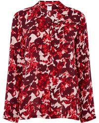 Calvin Klein | Fractured Floral Pj Top | Lyst