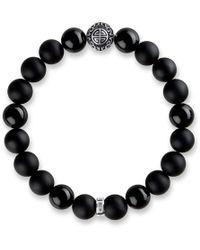 Thomas Sabo - Rebel At Heart Mala Obsidian Bracelet - Lyst