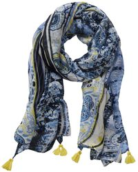 Betty Barclay - Long Paisley Stripe Print Scarf - Lyst