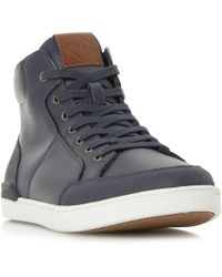Dune - Stark High Top Trainers - Lyst