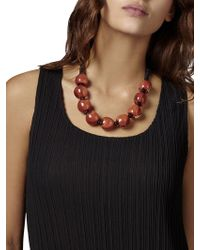East - Glass Ball Necklace - Lyst