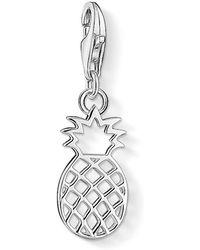 Thomas Sabo - Charm Club Silver Pineapple Charm - Lyst
