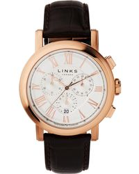 Links of London | Richmond Chronograph Watch White Dial | Lyst