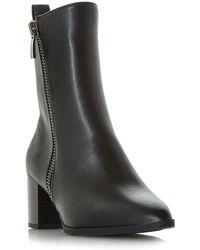 Dune - Renay Point Formal Calf Boots - Lyst