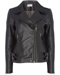 Label Lab - Leather Jacket - Lyst