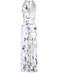 Jane Norman - Floral Multiway Maxi Dress - Lyst
