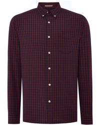 Howick - Men's Canyon Check Long Sleeve Shirt - Lyst