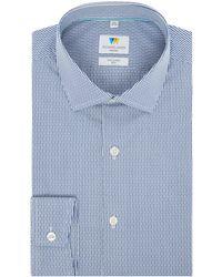 Richard James - Men's Dobby Stripe Slim Fit Shirt - Lyst