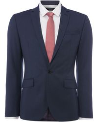 Kenneth Cole - Rivington Slim Fit Birdseye Suit Jacket - Lyst