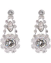 Ted Baker - T15860102daisy Lace Drop Earrings - Lyst