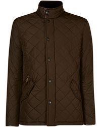 Barbour - Powell Polar Quilt Chelsea Jacket - Lyst