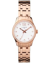 Links of London - Greenwich Rose Gold Tone & Crystal Watch - Lyst