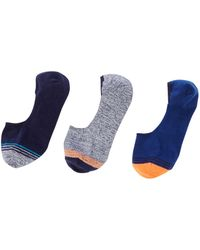 Criminal - Men's 3pk Colour Block Socks - Lyst