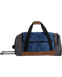 Quiksilver - Mens Centurion Large Wheeled Duffle Bag - Lyst
