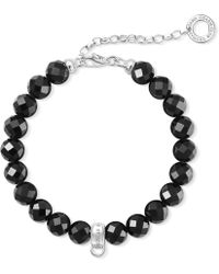 Thomas Sabo - Charm Club Silver Bead Charm Bracelet - Lyst