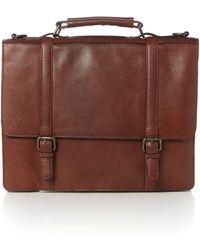 Howick - Smart Mahogony Business Bag - Lyst
