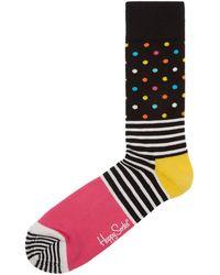 Happy Socks - Stripe And Dot Sock - Lyst