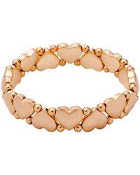 Pilgrim - Sophia Rose Gold Plated Bracelet - Lyst