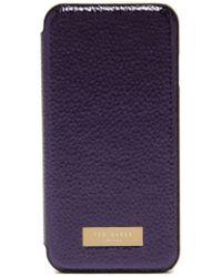 Ted Baker - Cedar Textured Iphone 66s7 Case - Lyst