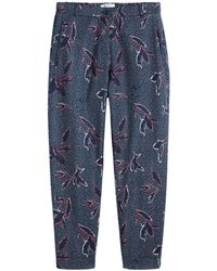 Sandwich - Abstract Print Crop Trousers - Lyst