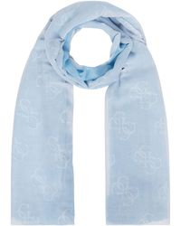 Guess - Two Tone Long Scarf - Lyst