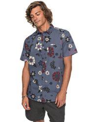 Quiksilver - Men's Sunset Floral Shirt - Lyst