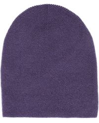 Stefanel - Pure Virgin Wool Hat - Lyst