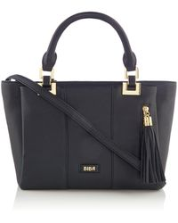 Biba - Small Multi Compartment Leather Tote - Lyst