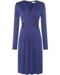 Issa - Darcy Pleat Detail Dress - Lyst