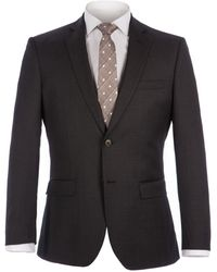 Alexandre Of England - Rosewood Charcoal Pindot Suit - Lyst