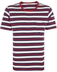 Lee Jeans - Stripe T-shirt - Lyst