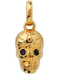 Links of London - Skull Charm Ygvblk Spinel - Lyst