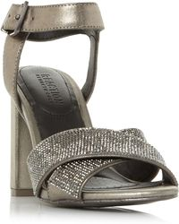 Kenneth Cole - Crash Jewel Cross Strap Beaded Sandals - Lyst
