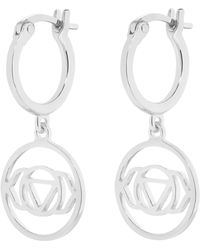 Daisy London - Brow Chakra Earrings - Lyst