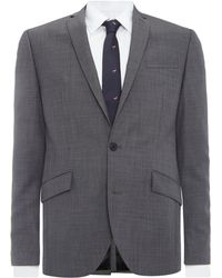 Kenneth Cole - Taylor Sb2 Sharkskin Suit Jacket - Lyst