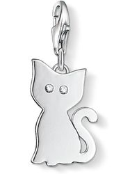 Thomas Sabo - Charm Club Cat Pendant - Lyst
