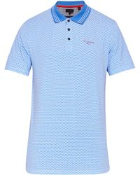 Ted Baker - Men's Sandpit Mini Geo Print Golf Polo Shirt - Lyst