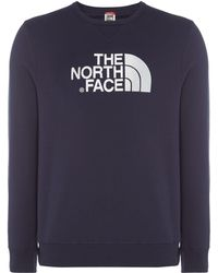 The North Face - Men's Drew Peak Crew Neck Sweat - Lyst