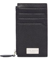 Ted Baker - Snapps Core Leather Cardholder - Lyst