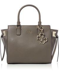 Guess - Digital Satchel Bag - Lyst